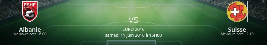 Prono Suisse Albanie Euro 2016