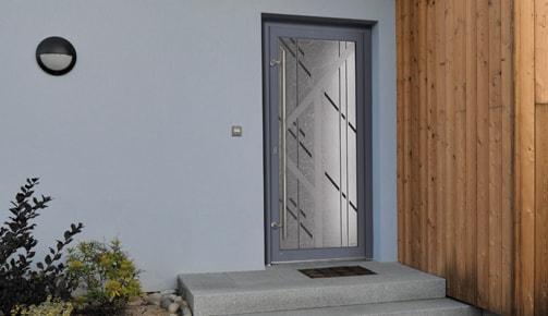 Porte d'entrée de votre logement