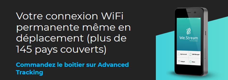 Avec We.Stream, votre Internet vous suit partout, même gratuitement !