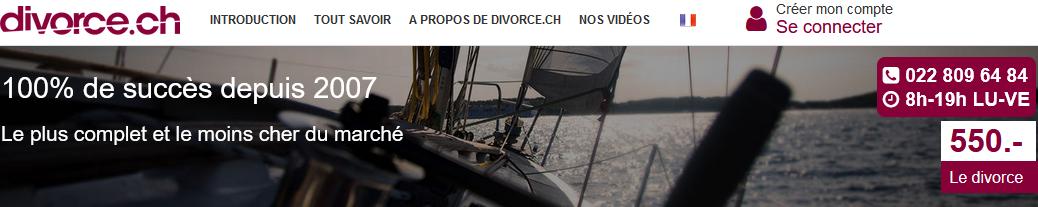 Divorcer en Suisse à coût très réduit (sans retard, ni blocage) avec divorce.ch.